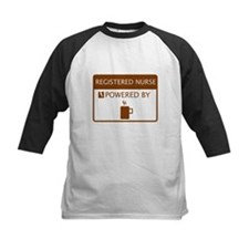 Registered Nurse Powered by Coffee Tee