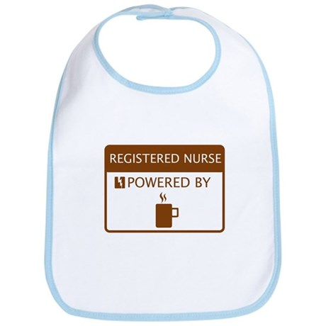 Registered Nurse Powered by Coffee Bib