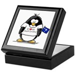 South Carolina Penguin Keepsake Box