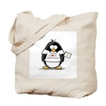 Rhode Island Penguin Tote Bag