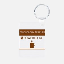 Psychology Teacher Powered by Coffee Keychains