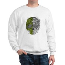 Grunge skull Sweatshirt