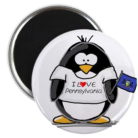 Pennsylvania Penguin Magnet