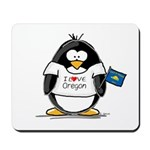 Oregon Penguin Mousepad