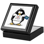 Oregon Penguin Keepsake Box