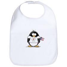 Ohio Penguin Bib