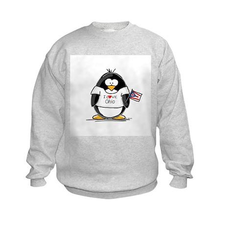 Ohio Penguin Kids Sweatshirt