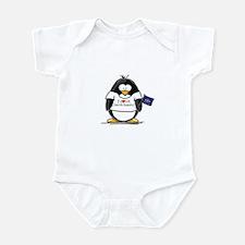 North Dakota Penguin Infant Creeper