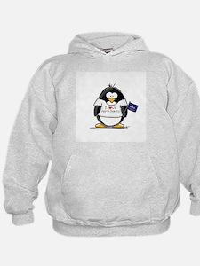 North Dakota Penguin Hoodie