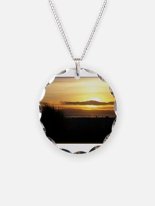 Sunset on Coronado Necklace