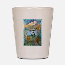 tree ! tree of life, art! Shot Glass