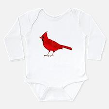 Claret Cardinal Long Sleeve Infant Bodysuit