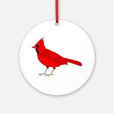 Claret Cardinal Ornament (Round)