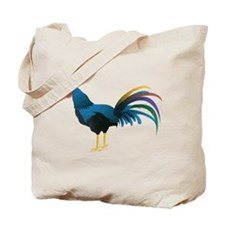 Cocky Rooster Tote Bag