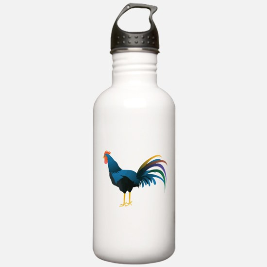 Cocky Rooster Water Bottle
