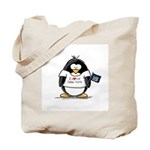 New York Penguin Tote Bag