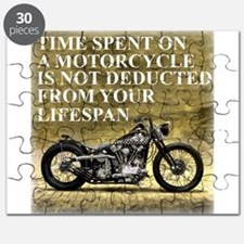 Time Spent On A Motorcycle Puzzle