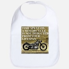 Time Spent On A Motorcycle Bib
