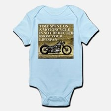 Time Spent On A Motorcycle Infant Bodysuit