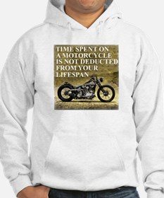 Time Spent On A Motorcycle Hoodie