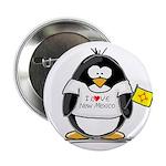 New Mexico Penguin Button