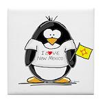 New Mexico Penguin Tile Coaster