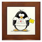 New Mexico Penguin Framed Tile