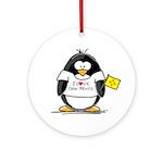New Mexico Penguin Ornament (Round)