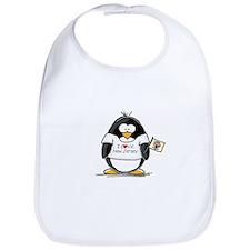 New Jersey Penguin Bib
