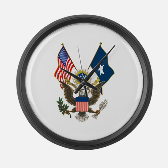 sealflags10a.png Large Wall Clock