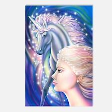 Unicorn Princess Postcards (Package of 8)