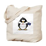 New Hampshire Penguin Tote Bag