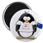 Nevada Penguin Magnet