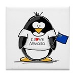 Nevada Penguin Tile Coaster
