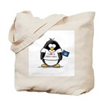 Nebraska Penguin Tote Bag