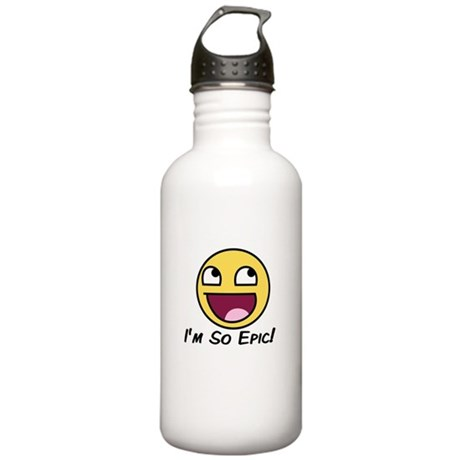 Epicface : I'm so Epic! Stainless Water Bottle 1.0