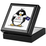 Montana Penguin Keepsake Box