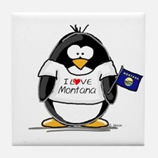 Montana Penguin Tile Coaster
