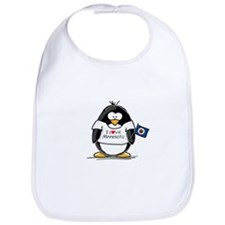 Minnesota Penguin Bib