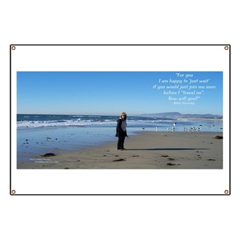 Nikki Hornsby on the Beach 2Banner