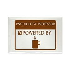Psychology Professor Powered by Coffee Rectangle M