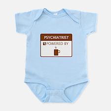 Psychiatrist Powered by Coffee Infant Bodysuit