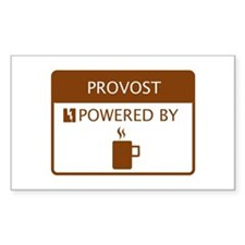Provost Powered by Coffee Decal
