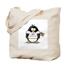 Maryland Penguin Tote Bag