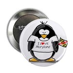 Maryland Penguin Button