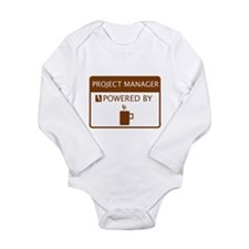 Project Manager Powered by Coffee Long Sleeve Infa