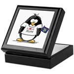 Maine Penguin Keepsake Box