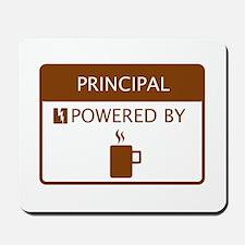 Principal Powered by Coffee Mousepad