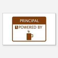 Principal Powered by Coffee Decal