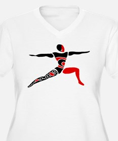 Cute Warrior yoga T-Shirt